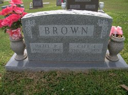 Cale I. Brown