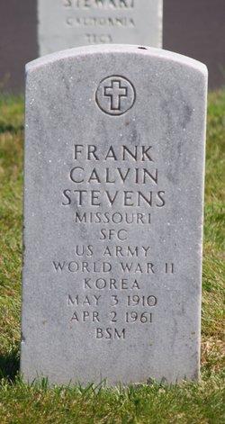 Frank Calvin Stevens