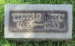 Willis Frederick Doney, Sr