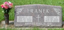 Ernest V Franek