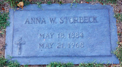 Anna W Storbeck