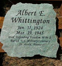 Pvt Albert Edward Whittington