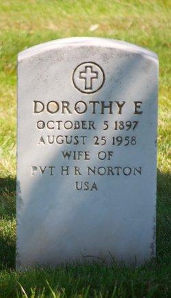 Dorothy E Norton