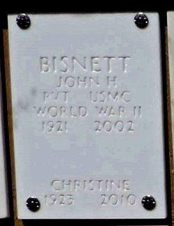 Pvt John H Bisnett