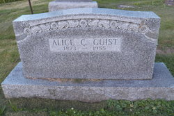 Alice C. <i>Peterson</i> Guist
