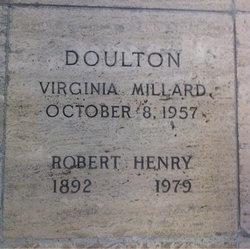 Virginia <i>Millard</i> Doulton