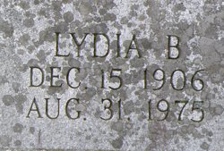 Lydia B Marshall
