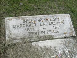 Margaret <i>Persawage</i> Lazarovich