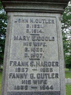 Mary Elizabeth <i>Gould</i> Cutler