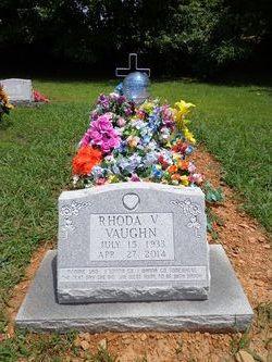 Rhoda V <i>Self</i> Vaughn
