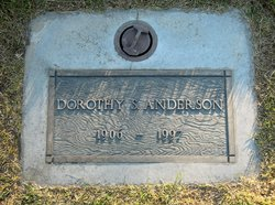 Dorothy Salome <i>Aggers</i> Anderson