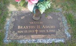 Braxton H Adams