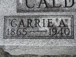 Caroline Adelia Carrie <i>Isgrigg</i> Caldwell