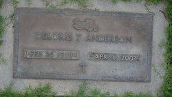 Deloris F. <i>Litchenberger</i> Anderson