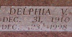 Delphia Viola <i>Green</i> Angle