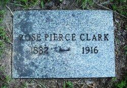 Rose E <i>Pierce</i> Clark