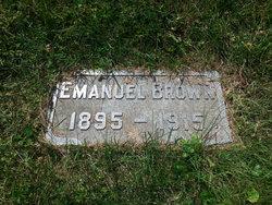 Emanuel Brown, Jr.