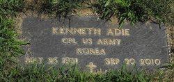 Kenneth F Adie, Sr