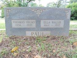 Ella Shelby <i>Wallis</i> Paul