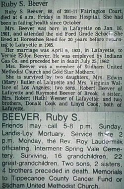 Ruby S. <i>Cook</i> Beever