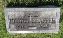 Hester L <i>Bickert</i> Shaffer