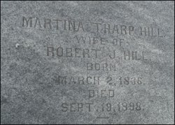 Martina <i>Tharp</i> Hill