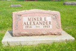 Miner E. Buck Alexander