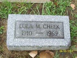 Lula M. Cheek
