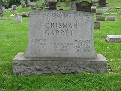 Jane Wallace Jennie <i>Garrett</i> Crisman