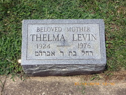 Thelma <i>Reese</i> Levin