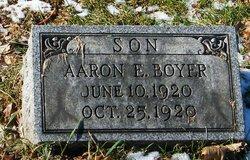 Aaron E Boyer