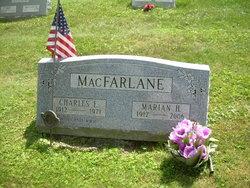 Charles E MacFarlane