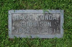 Hazel <i>Fonda</i> Cubbison