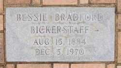 Elizabeth 'Bessie' Fort <i>Bradford</i> Bickerstaff