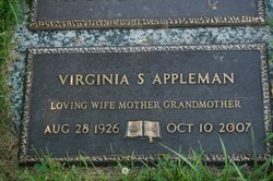 Virginia Shula <i>Edelblute</i> Appleman