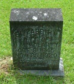Elizabeth M. Lizzie <i>Black</i> McLarty