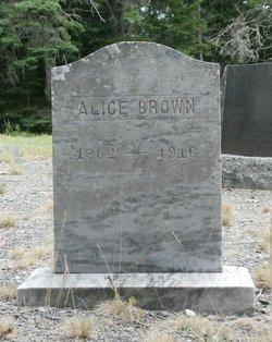 Alice G <i>Knight</i> Brown
