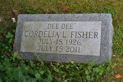 Cordelia L. Dee Dee <i>Larrimore</i> Fisher