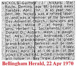 Guilford I Nickols