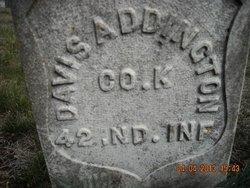 Pvt Amos Davis Doc Addington
