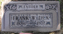 Frank W Eick