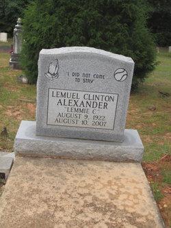Lemuel Clinton Alexander