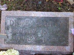 Dewey Bailey
