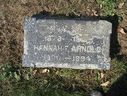 Hannah Flint <i>Whitcomb</i> Arnold