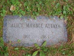 Alice <i>Marble</i> Attaya