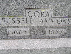 Cora <i>Russell</i> Ammons