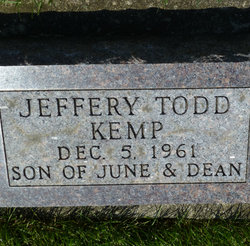 Jeffery Todd Kemp