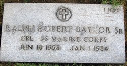 Ralph Robert Baylor, Sr
