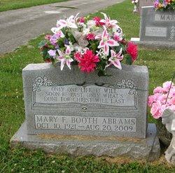 Mary Frances <i>Meek</i> Abrams