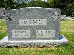 Lillie Cola <i>Tuggle</i> Mims